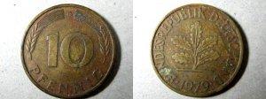 Uang Logam Negara Asing Tahun 1979