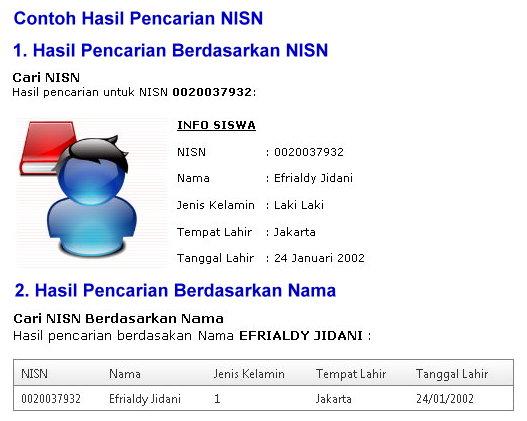 Cek Nisn-3